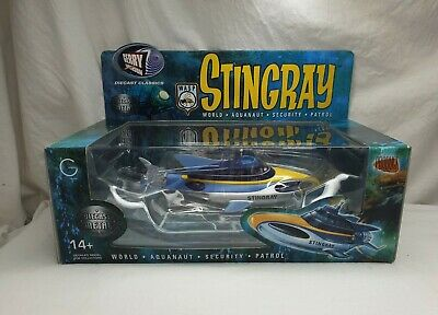 Gerry Anderson Stingray Diecast WASP Enterprise