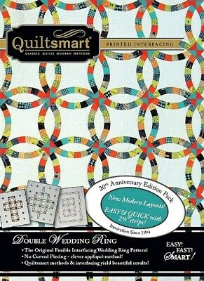 Quiltsmart Double Wedding Ring Classic Pack - 20th Anniversary Edition