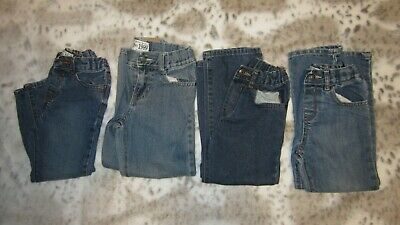 Boys 5T The Childrens Place Jeans Lot of 4 Pair