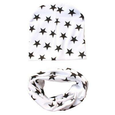 Baby Toddler Kid Boys Girls Hat Beanie Scarf Collar Turban Head+ Wrap Cap JA