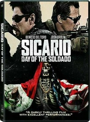 Sicario: Day of the Soldado (DVD, 2018) BRAND NEW SEALED