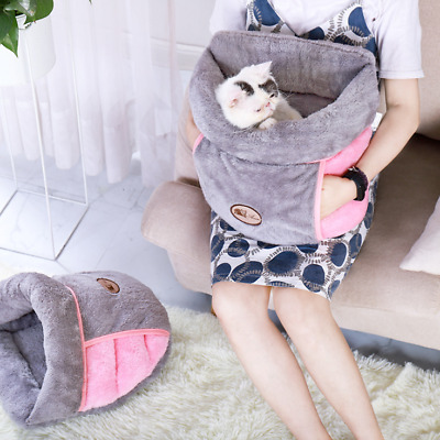 Pet Puppy Beds Pad Nest Cat Dog Bed Soft Warm Cave House Winter Sleeping Bag Mat