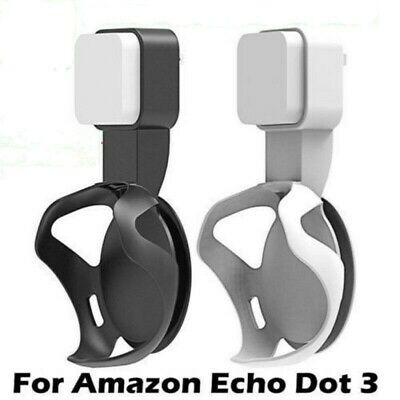 for Amazon Echo Dot 3rd Gen Plug Socket Hanger Mount Wall Mount Alexa Holder UK