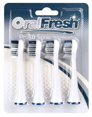 Oral Fresh Pro Sonic Elite Toothbrush - Replacement Heads