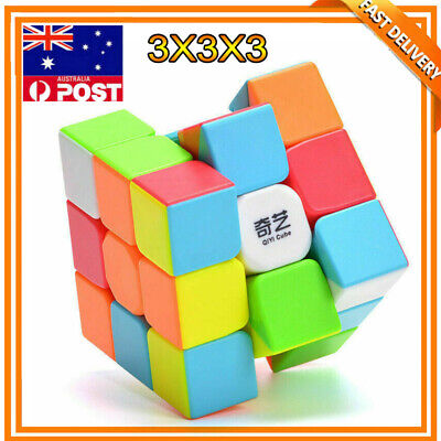 3x3x3 Magic Cube Super Smooth Fast Speed Puzzle Rubix Rubics Toy  for Kids Adult
