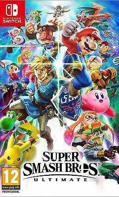 Super Smash Bros - Ultimate (Switch)  NEW AND SEALED - IN STOCK - QUICK DISPATCH
