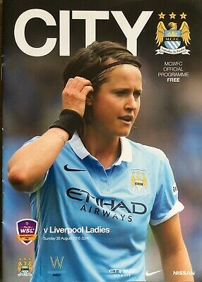 Manchester City V Liverpool Ladies 2015/16