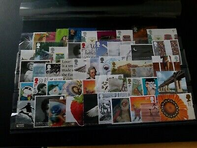 50 x 1st Unfranked GB Commemorative Stamps Off Paper. **REDUCED**