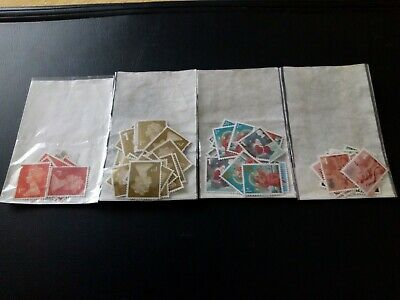 80 x 1st Unfranked GB Definative Stamps Off Paper. **REDUCED**