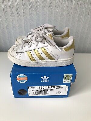 Adidas Superstar Trainers Size 8
