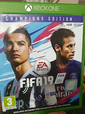 FIFA 19 Champions Edition Xbox One Game Football