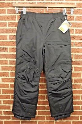 NEW L.L. Bean Mens Insulated Snow Pants XL X-Large Black Ski Winter Snowboard