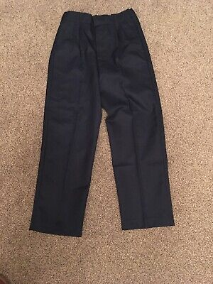 Boys Navy Trousers - Adams Age 8 Years Height 128cm