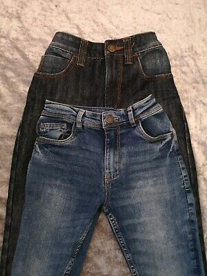 Bundle Next Boys Age 7 Jeans Regular Skinny Navy Blue