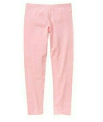 Gymboree Mix n Match Solid Pink Leggings Size M 7-8 NWT