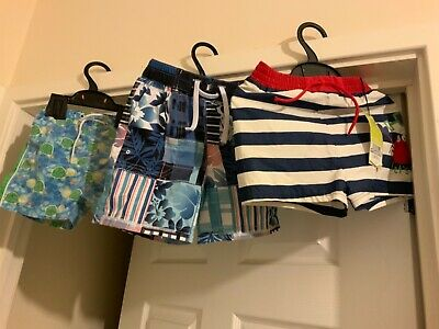 Baby Boys Swimming Trousers Bundle Age 18-24 Months M&S, Mothercare Brand New