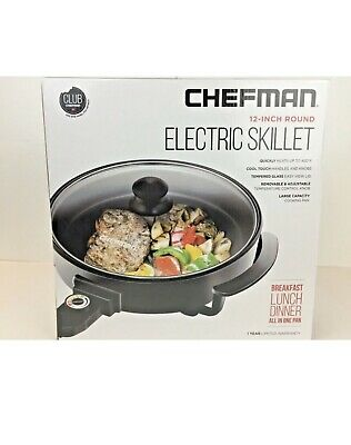 "Chefman 12"" Round Electric Skillet"