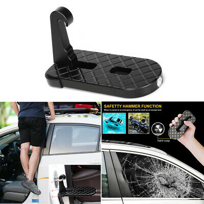 SUV Portable Truck Folding Door Latch Hook Step Foot Pedal Ladder For Jeep tools