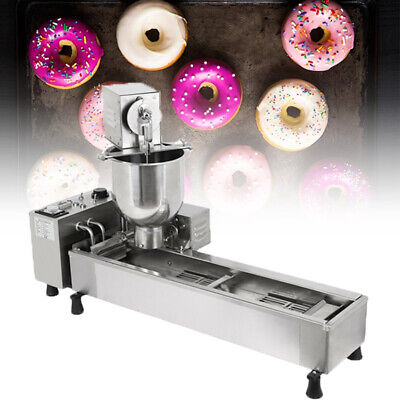 Samger Commercial Doughnut Maker Automatic Donut Making Machine +3 Size of Molds