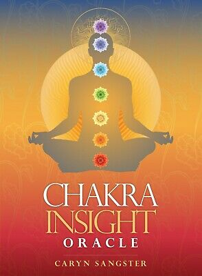 Chakra Insight Oracle  Understand Energy Body Caryn Sangster 148Pg Bk / 49 Cards