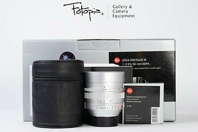 Leica Noctilux-M 50mm F0.95 ASPH - Silver / 11667, full packing (6-bit, 99% new)