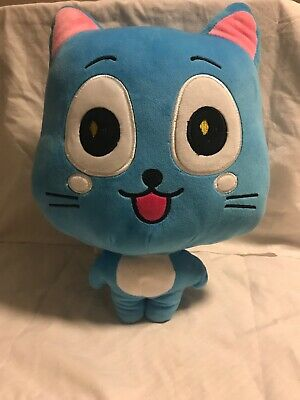 19.5/'/' Anime Fairy Tail Panther Lily Plush Stuffed Toy Cat Pillow Doll Girl Gift