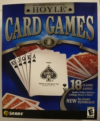 Video Game PC Hoyle Card Games NEW SEALED Big Box
