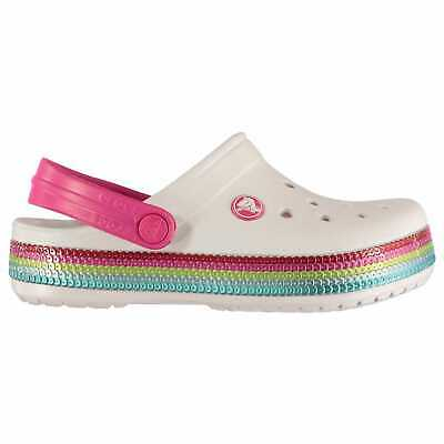 Crocs Kids Sequin Band Childs Cloggs