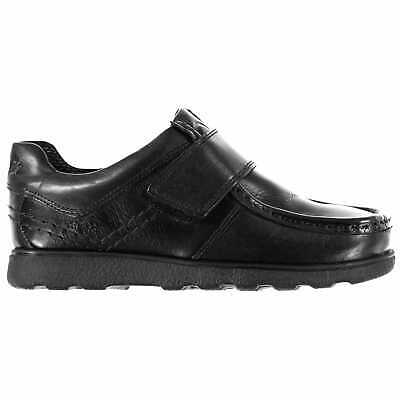 Kangol Kids Waltham Childs Shoes Moc Toe Padded Ankle Collar Hook and Loop