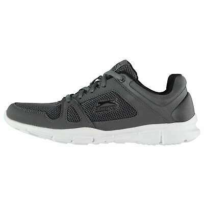 Slazenger Kids Force Junior Trainers Running Shoes Low Top Lace Up Panels