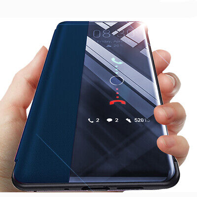 Luxury Smart View Leather Flip Case Cover For Huawei P30 P20 Pro Mate 20 Lite