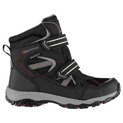 Karrimor Kids Snow Boots Canvas Casual Everyday