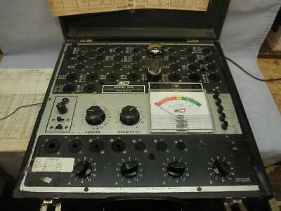 1961 BK Model 700 Mutual Conductance Tube Tester-Radio/Amplifier Repair-Working