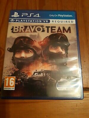 Bravo Team VR (PS4) UK  - PS Playstation VR Required