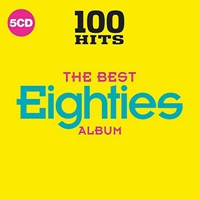 100 Hits: The Best 80s Album **Greatest Hits Of The Eighties 1980's *NEW 5 CD!!