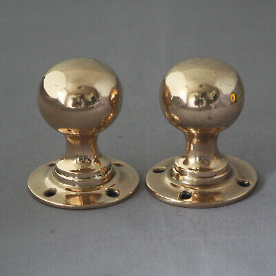 Pair Antique Dummy Door Handles