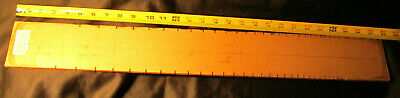 Luthiers Mercantile acrylic dual scale guitar fret slotting template for Martin