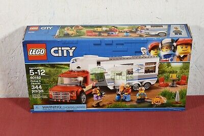LEGO City Great Vehicles Pickup & Caravan 60182 (distress packaging, new inside)