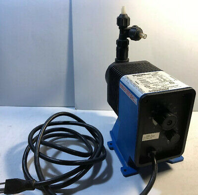 Pulsatron Pulsafeeder Electronic Metering Pump LE13SA-PTC1-NA001 12GPD 150PSI