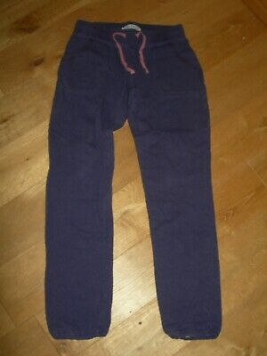 Mini Boden Trousers Tracksuit Bottoms Jogging Pants Age 12 Purple 100% Cotton