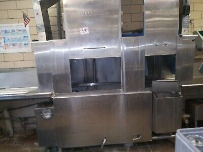 "Jackson AJ-66CS 225 Racks/hr Conveyor Dishwasher 36"" Recirculating Prewash"
