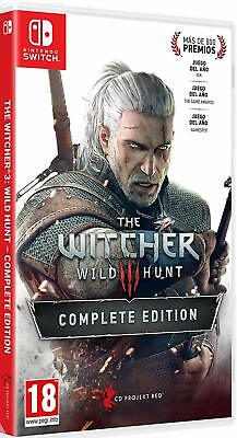 The Witcher 3: Wild Hunt - Complete Edition - Nintendo Switch - New!!!