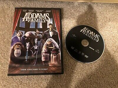 The Addams Family 2019 DVD