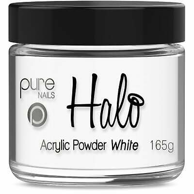 Halo LED/UV Gel Polish Acrylic Powder - White 165g (N3347)