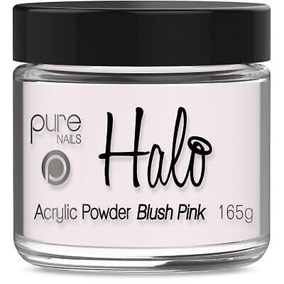 Halo LED/UV Gel Polish Acrylic Powder - Blush Pink 165g (N3322)