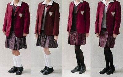 girls ave maria school uniform