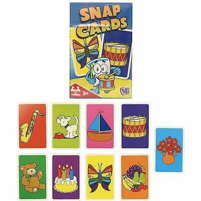 HTI Toys Traditional Games Snap Card Playing Game For Kids Boys & Girls