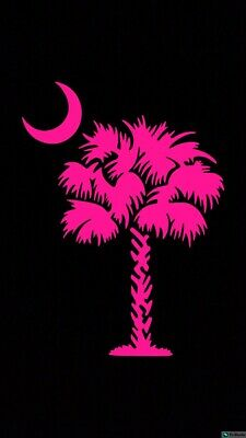 South Carolina SC Palmetto Tree Palm Gamecocks Window Decal Sticker Car Vinyl