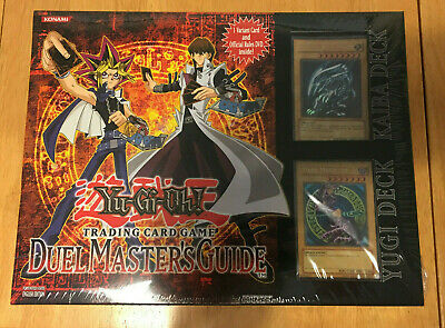 Yugioh! Duel Master's Guide - Factory Sealed
