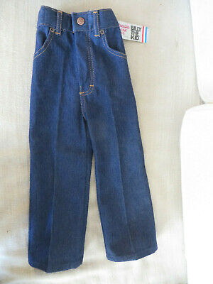 Vintage Billy The Kid 4T Toddler Slim Fit Jeans New Old Stock W Tags